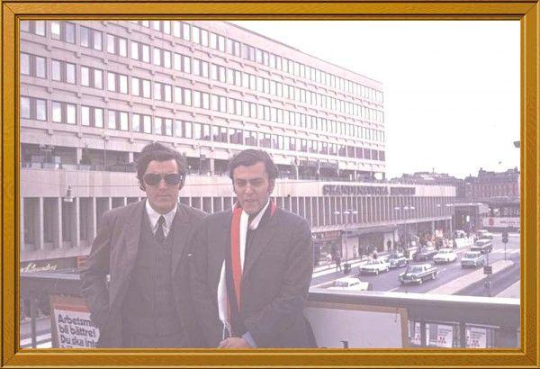 Fotolog de mobaralle: Con Miguelito En Estocolmo